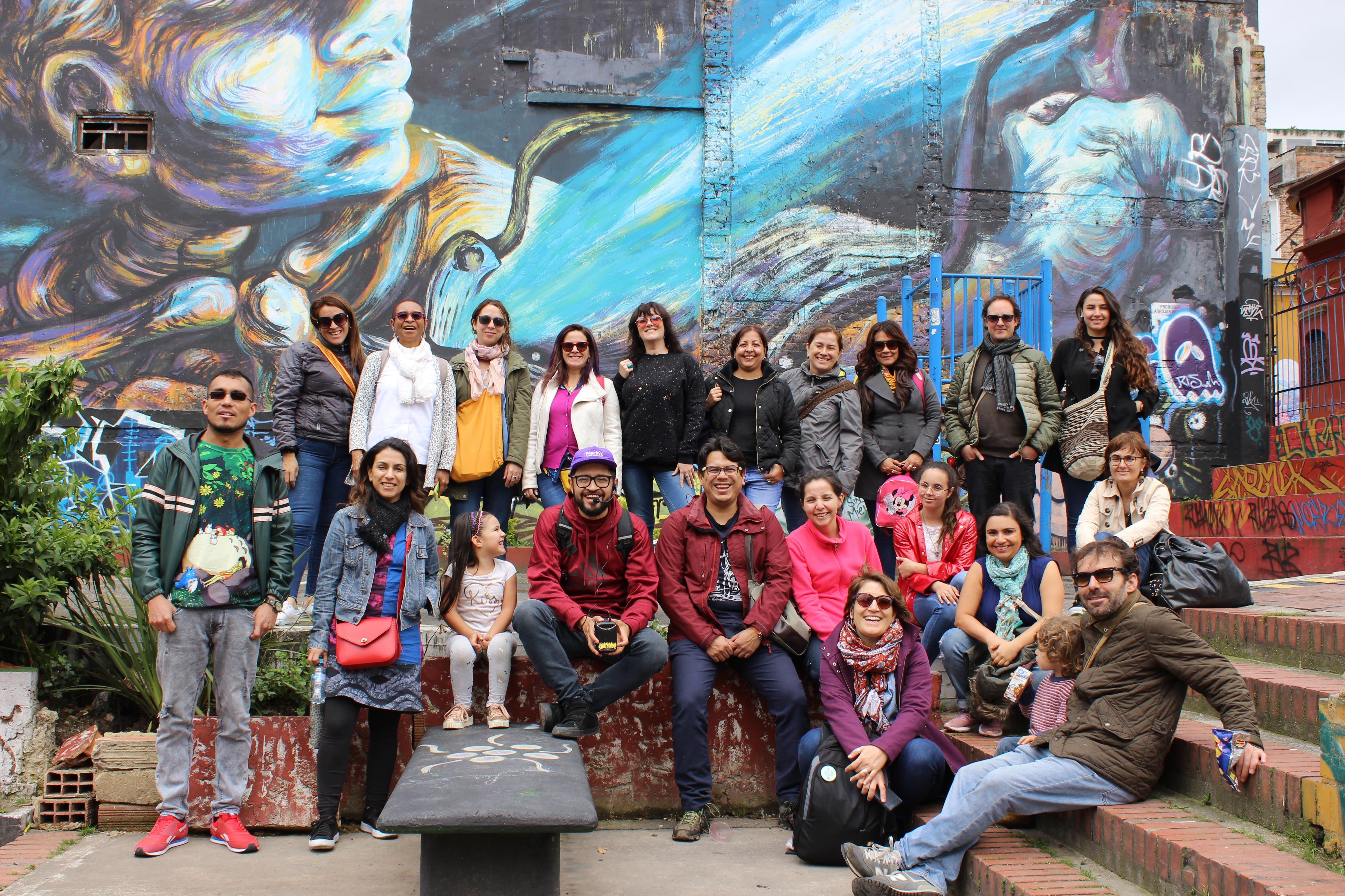 SPSS program participants in Bogotá June 2019
